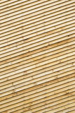 Wood paneling. Exterior wood paneling of a house wall , background Stock Photo