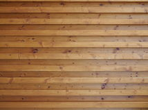 Wood paneling. Forming the outer shell of the building royalty free stock image