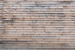 Wood paneling Royalty Free Stock Photography