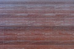 Wood Panelling. A close up shot of wood panelling Royalty Free Stock Image