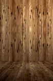 Wood panels. Abstract interior with parquet wooden floor Royalty Free Stock Photography