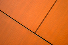 Wood panels. Brown wood panels for interor decoration Stock Images