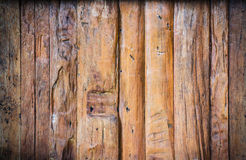 Wood panels. Grunge wood panels are vertical alignment Stock Photo