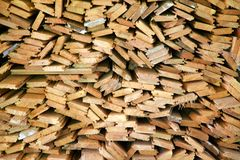 Wood Panels Pile Royalty Free Stock Photo