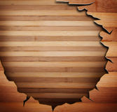 Wood panels used as background Stock Photography