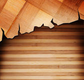 Wood panels used as background Stock Photos