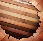 Wood panels used as background. Royalty Free Stock Photos