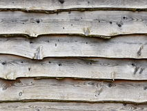 Wood Panels. View of Weathered Oak Wooden Panels Background Stock Photos