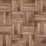 Wood Parquet Floor. Seamless Texture. Stock Image