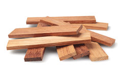 Wood Parquet Pieces Stock Photography