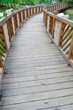 Wood path Stock Photography