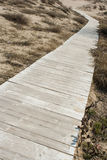 Wood path way Royalty Free Stock Images