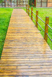 Wood pathway Royalty Free Stock Photography