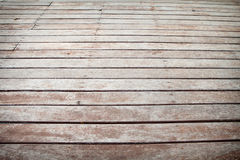 Wood patio Royalty Free Stock Photography