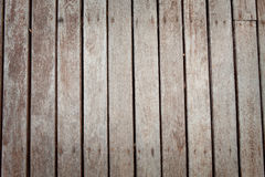 Wood patio Stock Photography