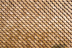 Wood Pattern. Used to cover exterior walls on houses Stock Photos