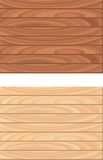 Wood Pattern. Two different types of wood patterns Stock Photography