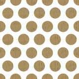Wood pattern dots Royalty Free Stock Photos