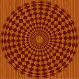 Wood pattern with ornament Royalty Free Stock Photos