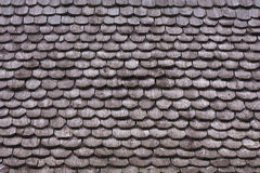 Wood pattern on the roof. Pattern of the wooden house on the roof Royalty Free Stock Images
