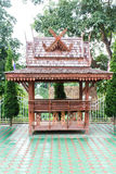 Wood pavilion, Thai style Royalty Free Stock Photography