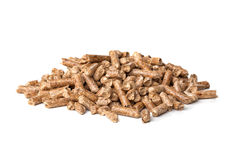 Wood pellet Royalty Free Stock Photos