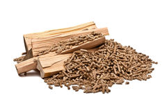 Wood pellet Royalty Free Stock Photo