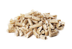 Wood Pellet Fuel Royalty Free Stock Images