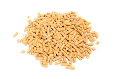 Wood Pellet (Pine) Cat Litter Royalty Free Stock Photography