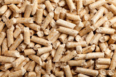 Wood pellets background Stock Photos