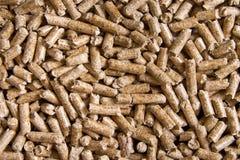 Wood pellets close up .Biofuels. Biomass Pellets - cheap energy. The cat litter stock photos