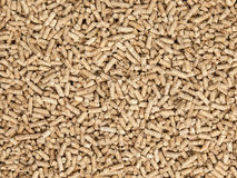 Wood pellets a Royalty Free Stock Image