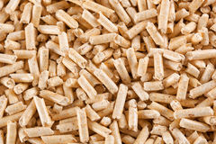 Wood pellets Royalty Free Stock Images