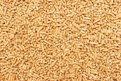 Wood Pellets toilet Royalty Free Stock Photos