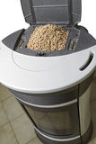 Wood pellets. Used to heat homes Royalty Free Stock Images