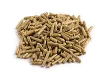 Wood Pellets (woodpellets) Royalty Free Stock Photos