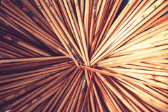 Wood Pencils Stock Images