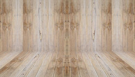 Wood perspective Royalty Free Stock Photography