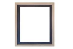 wood photo frame stock photography