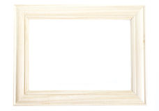 Wood photo frame royalty free stock photos