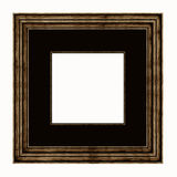 Wood Picture Frame Stock Image