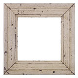 Wood picture frame. Grungy old picture frame with very old cracking paint Royalty Free Stock Photos