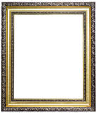 Wood picture frame Royalty Free Stock Photos