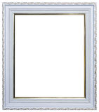 Wood picture frame. Wood frame isolated on a white background Stock Image