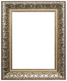 Wood picture frame. Wood frame isolated on a white background Royalty Free Stock Photos