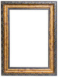 Wood picture frame Royalty Free Stock Images