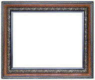 Wood picture frame Stock Photography