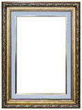 Wood picture frame. Wood frame isolated on a white background Stock Images
