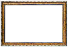 Wood picture frame. Wood frame isolated on a white background Stock Photography
