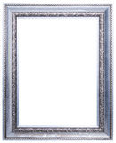 Wood picture frame Royalty Free Stock Image